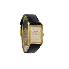 Patek Philippe Yellow Gold Art Deco Manual Wind Watch