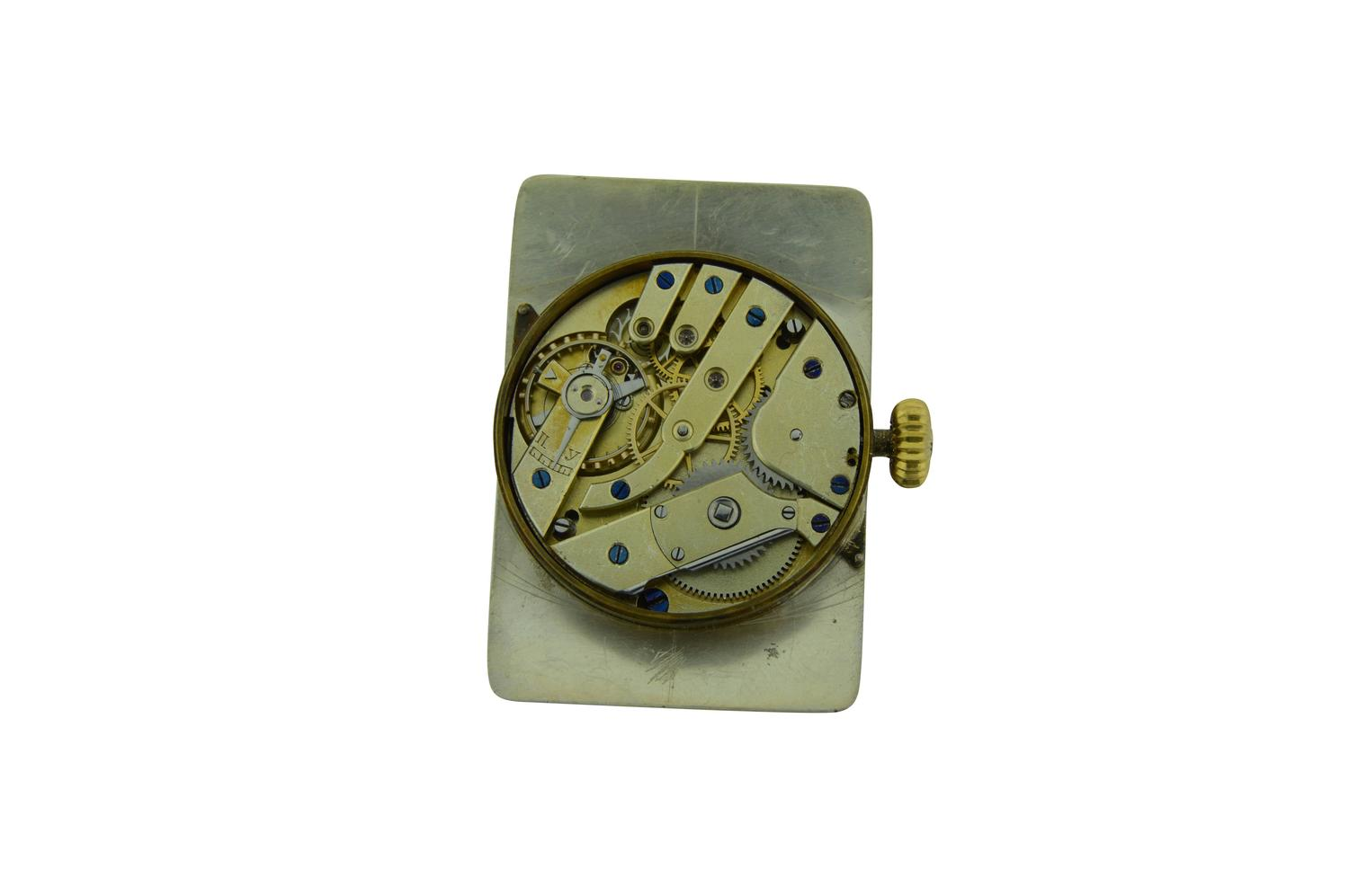 H. Moser Gold Menu0026#39;s Wrist Watch Gondolo Style For Sale at 1stdibs