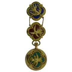 Tiffany & Co. Ladies Gold Pendant Watch