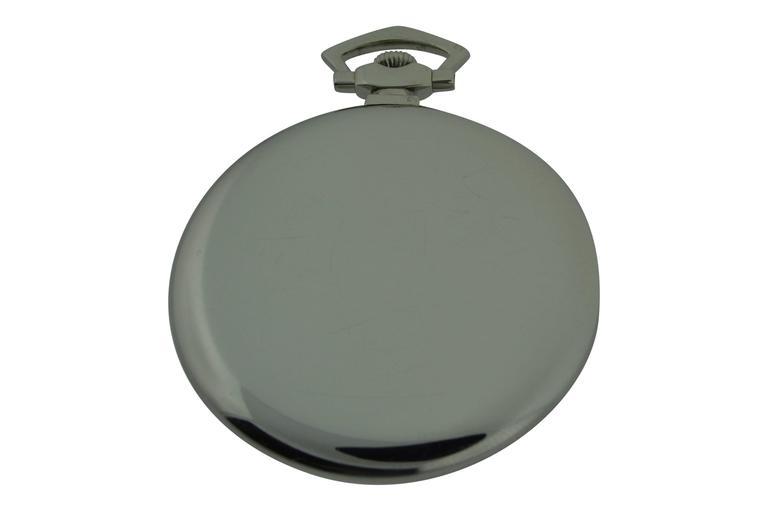 International Watch Company Platinum Tuxedo Pocket Watch 2