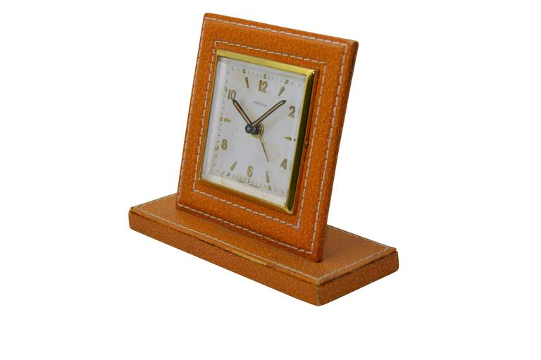 FACTORY / HOUSE: Shreve and Co. STYLE / REFERENCE: Bedside Alarm  MOVEMENT / CALIBER: Manual Winding DIMENSIONS: 5