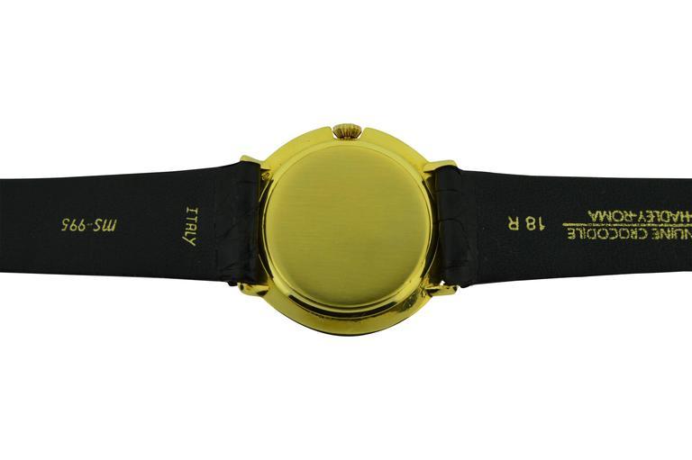 Modern Vacheron & Constantin Yellow Gold Manual Winding Watch, circa 1950s For Sale