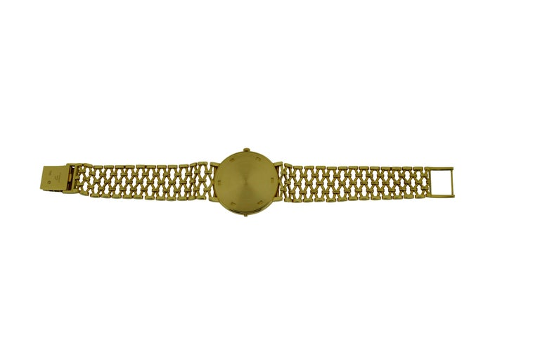 Patek Philippe Yellow Gold Screw Back Bracelet Manual Watch, circa 1970s For Sale 2