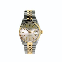 Rolex Datejust 18 Kt. Yellow Gold and Stainless Steel Oyster Perpetual Watch