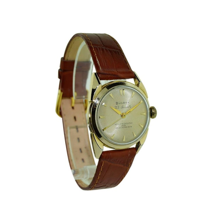 The Deco Stylist Tagged 1960 S Fashion The Deco Haus: Bulova Yellow Gold Filled Art Deco Automatic Winding Watch