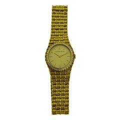 Audemars Two-Tone 18 Karat Gold Ladies Quartz Bracelet Watch in New Condition