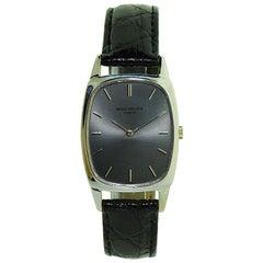 Patek Philippe 18 Karat Gold Tonneau Shape Wrist Watch circa, 1971 or 1972
