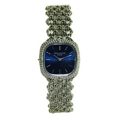 Patek Philippe 18 Karat Gold Ladies Full Length Bracelet Watch, circa 1990s