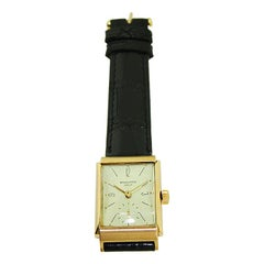 Patek Philippe & Cie. 18 Karat Rose Gold Art Deco Wristwatch from 1944