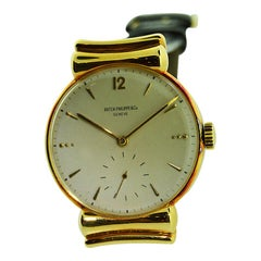 Patek Philippe Oversized Wrist Watch with Original Dial from 1948