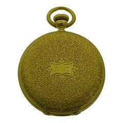 Patek Philippe 18 Karat Yellow Gold Hunters Case Pendant Watch, circa 1860s