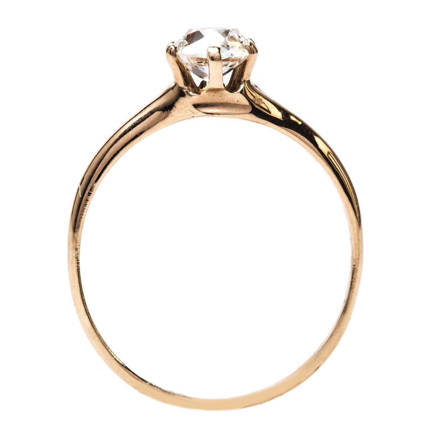 classic and simple gold solitaire