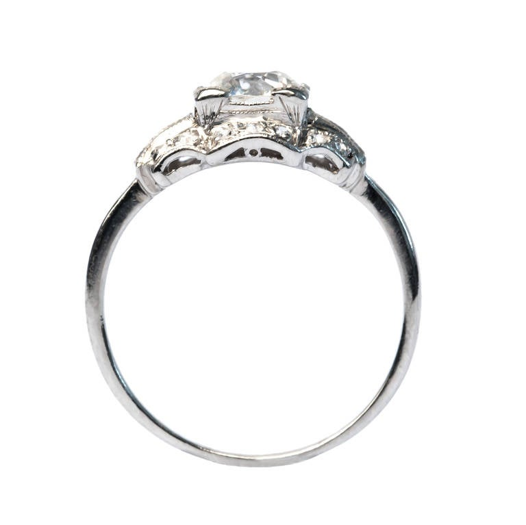 deco 94 carat engagement ring at 1stdibs