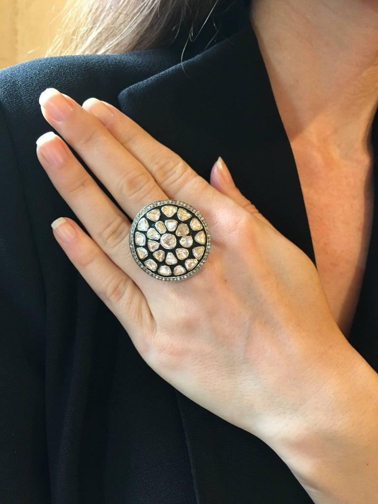Diamond Slice Round Ring 2