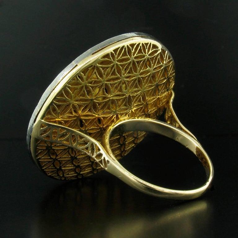 Diamond Slice Round Ring 3