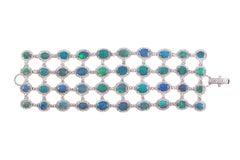 David Morris 37.52 Carat Opal and 16.05 Carat Diamond Bracelet