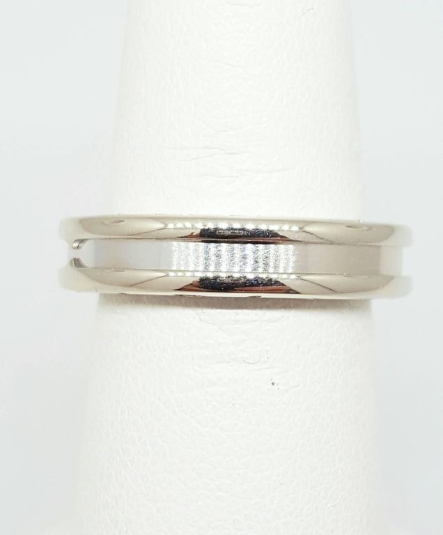 bulgari bzero1 white gold ring 2