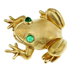 Frog Brooch or Pendant