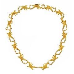 Small Alligator Necklace