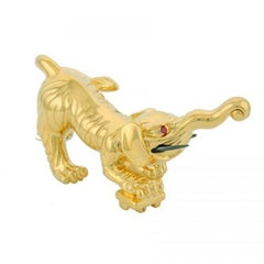 Gold-Plated Bronze Baku by John Landrum Bryant