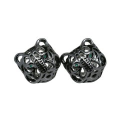 Quest Double Mystical Tiger Cufflinks by John Landrum Bryant
