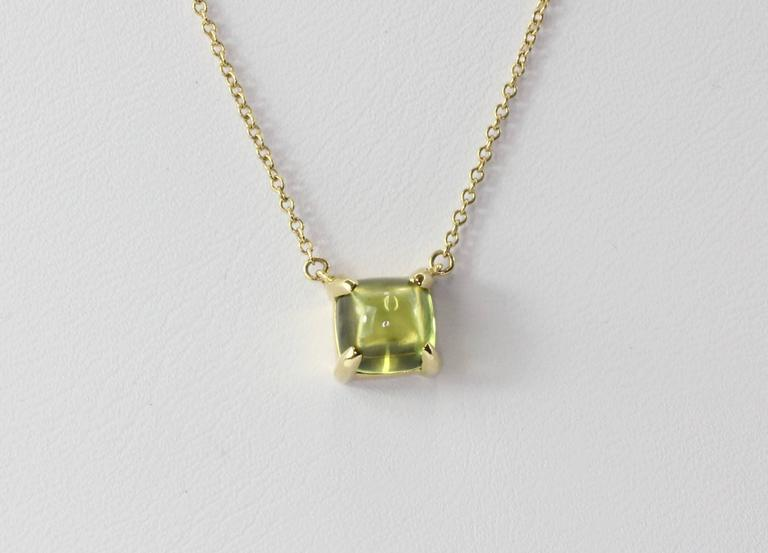 connector birthstone with blank necklace peridot disk personalized august products