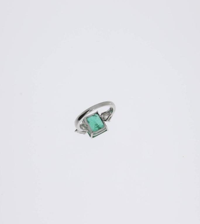 beautiful emerald diamonds gold ring for sale at 1stdibs