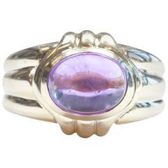 Bulgari Amethyst Gold Ring