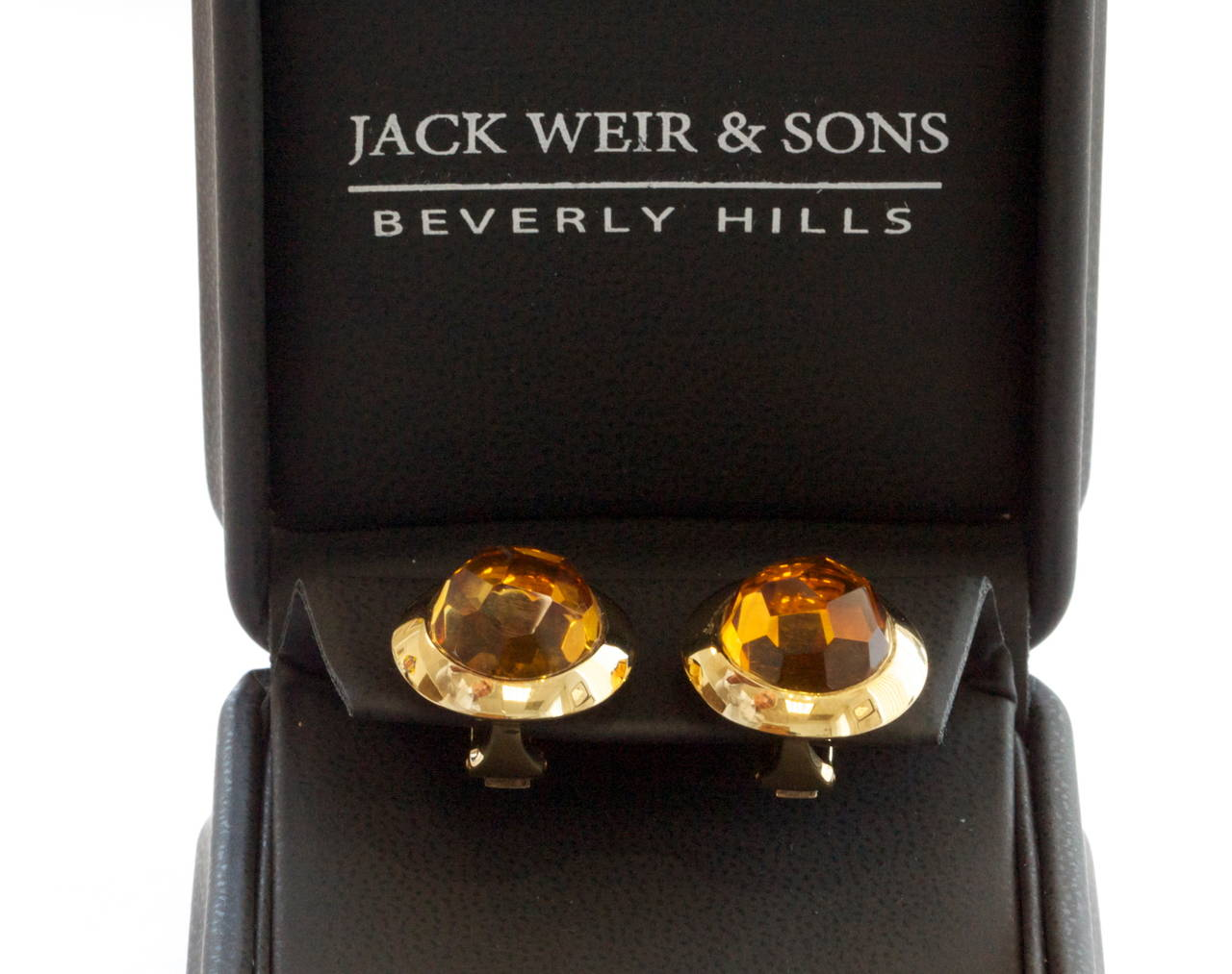 Pomellato Citrine Gold Earrings For Sale 2