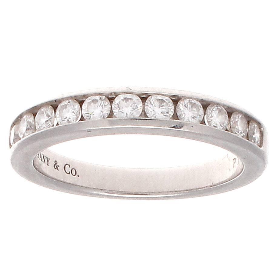 and co platinum wedding band ring at 1stdibs