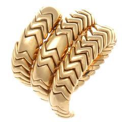 Bulgari Serpenti Gold Ring
