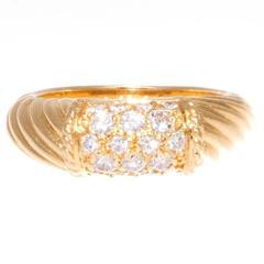 Van Cleef & Arpels Diamond Gold Phillipine Ring
