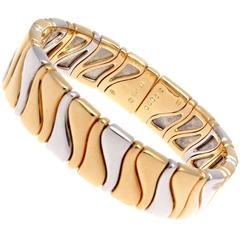 Marina B. Gold Stainless Steel Bangle Bracelet