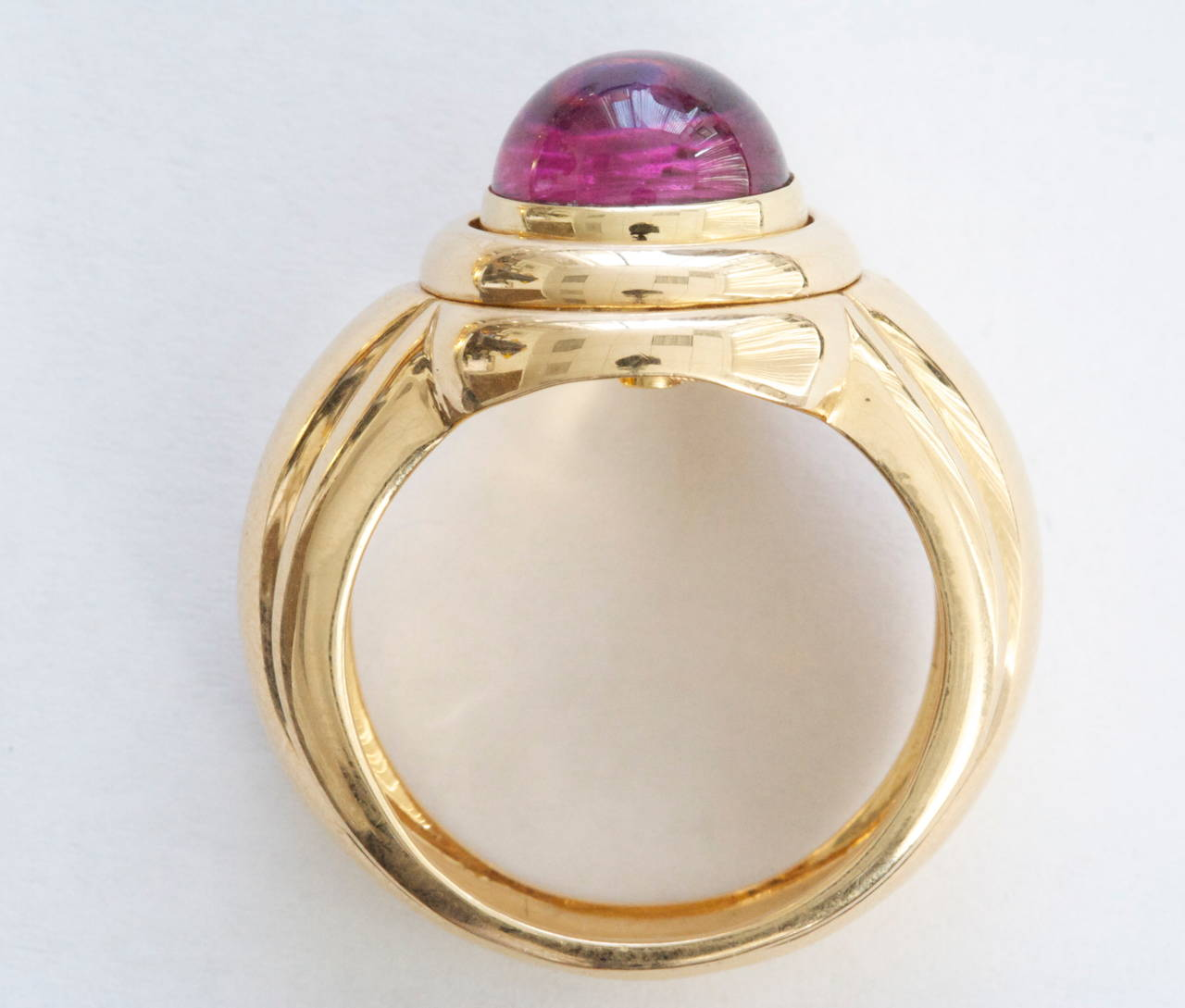 piaget tourmaline gold interchangeable ring at 1stdibs