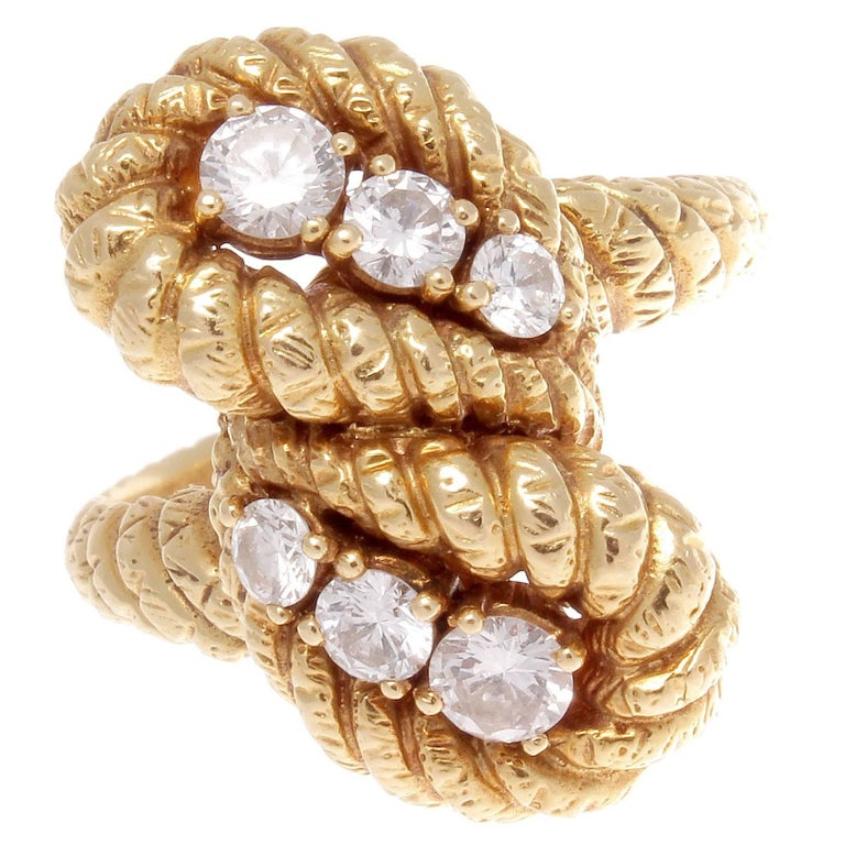 Boucheron Diamond Gold Ring 1