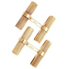 Van Cleef & Arpels Paris Gold Cufflinks