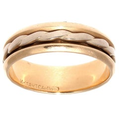 Spinning Gold Band Ring