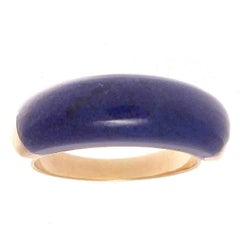 Van Cleef & Arpels Lapis Gold Ring