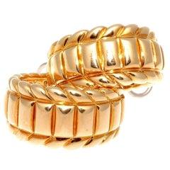 Gubelin Gold Hoop Earrings