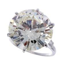 13.06 Carat Diamond Mounted by Van Cleef & Arpels
