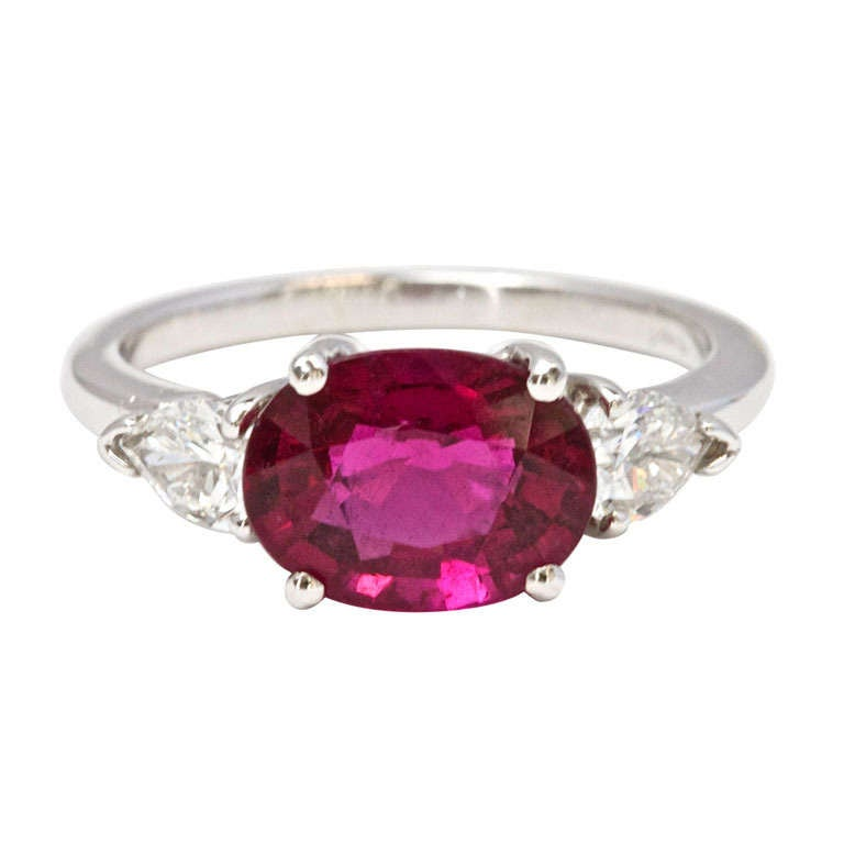 tourmaline and engagement ring by jdj at 1stdibs