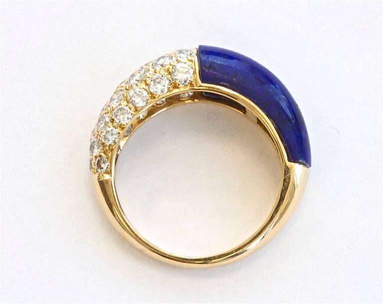 Lapis Lazuli Rings White Gold