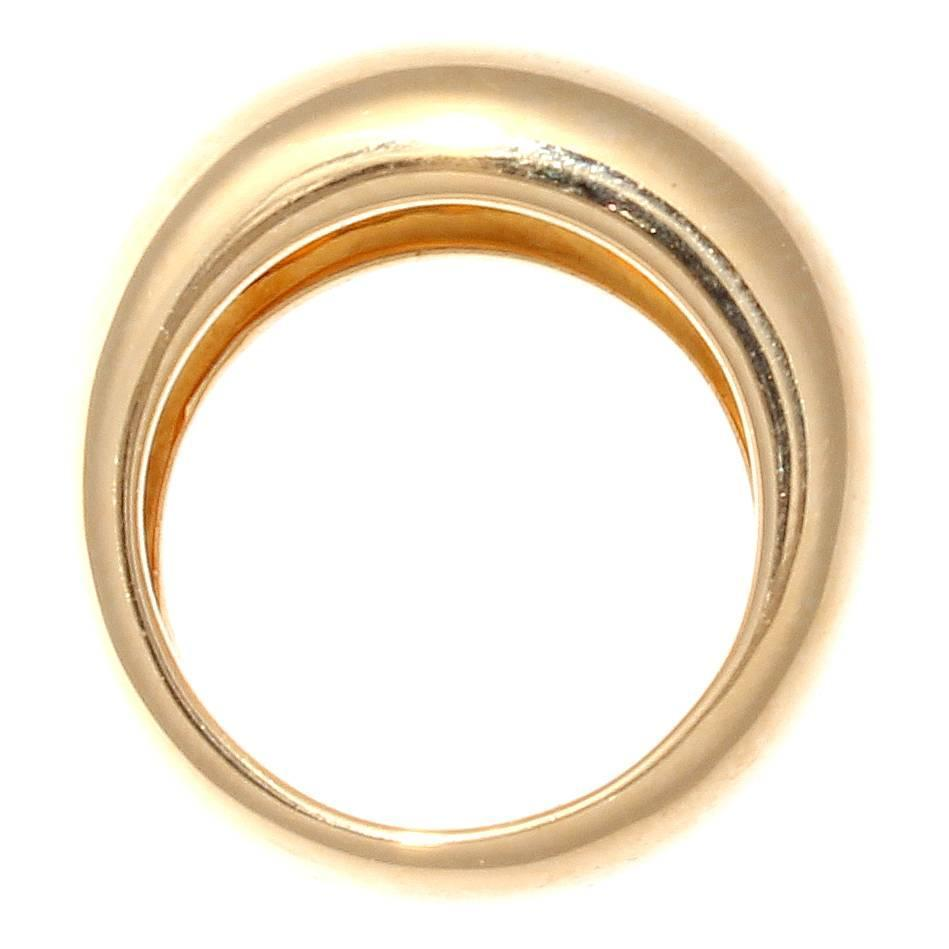 cartier nouvelle vague gold ring at 1stdibs