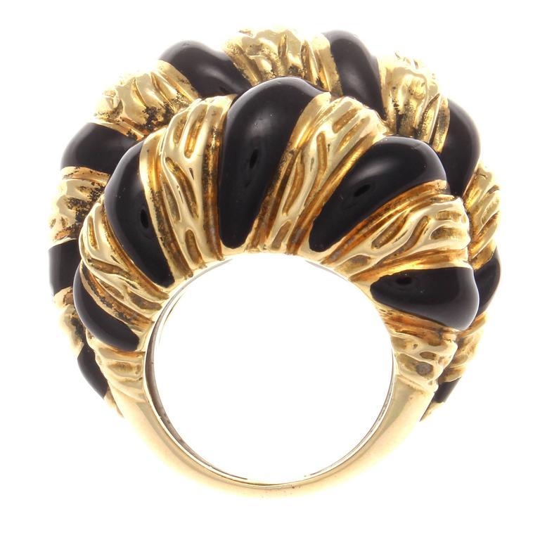 david webb enamel gold ring earring ensemble at 1stdibs