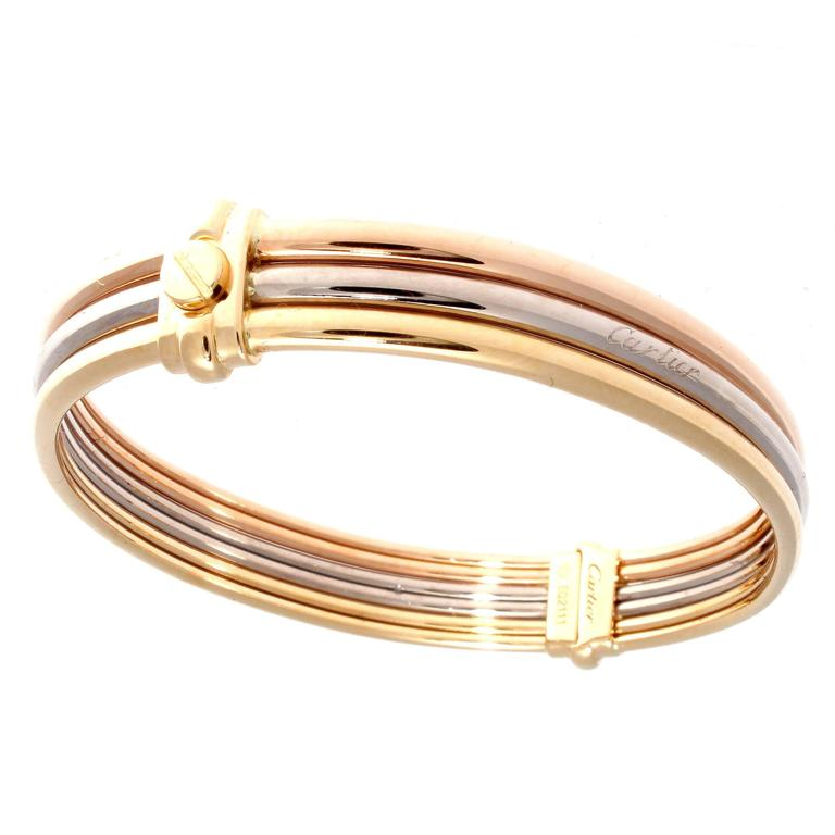 gold bracelet love jewelry bangle catier luxury plated shine cartier rose bangles screw