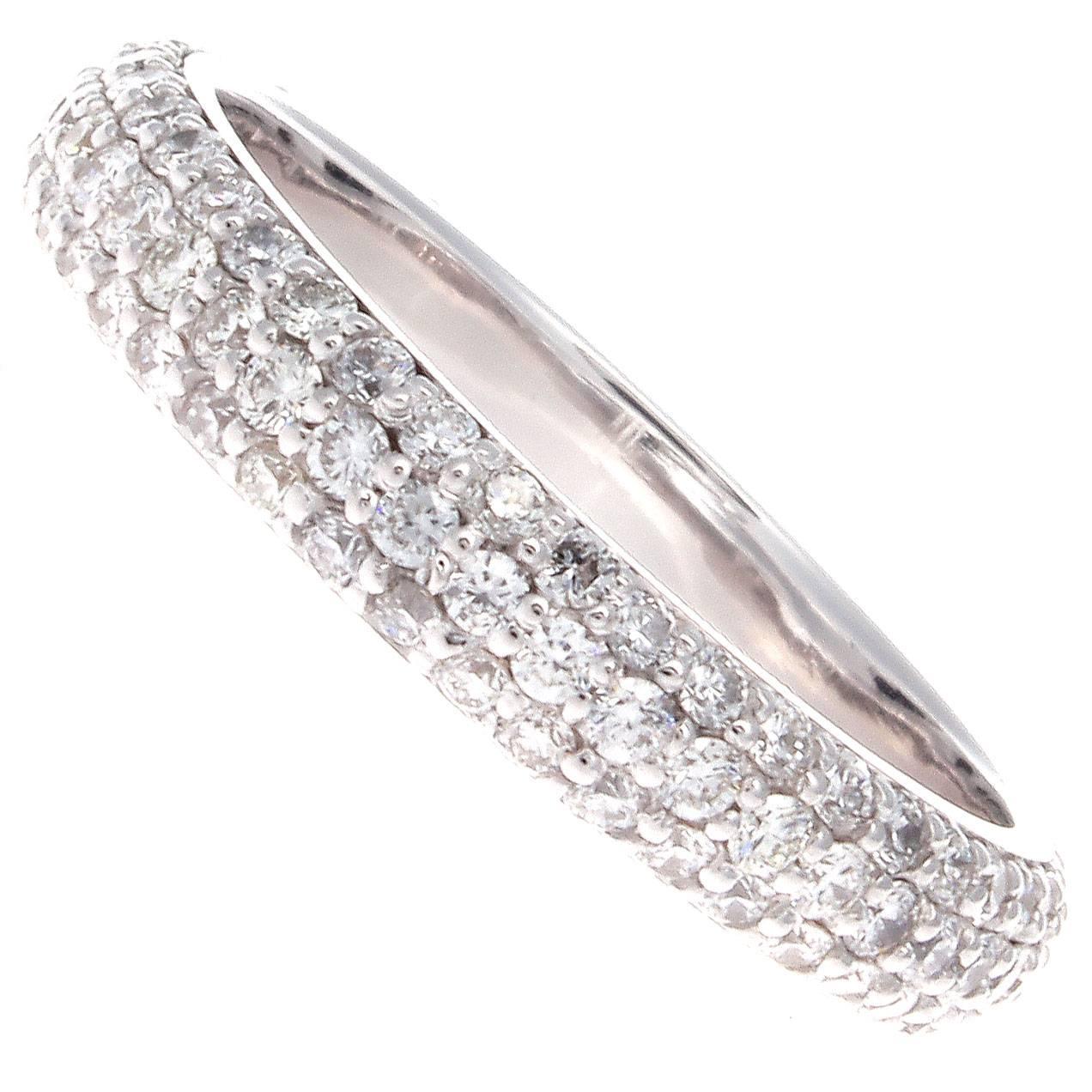 Diamond Gold Eternity Ring