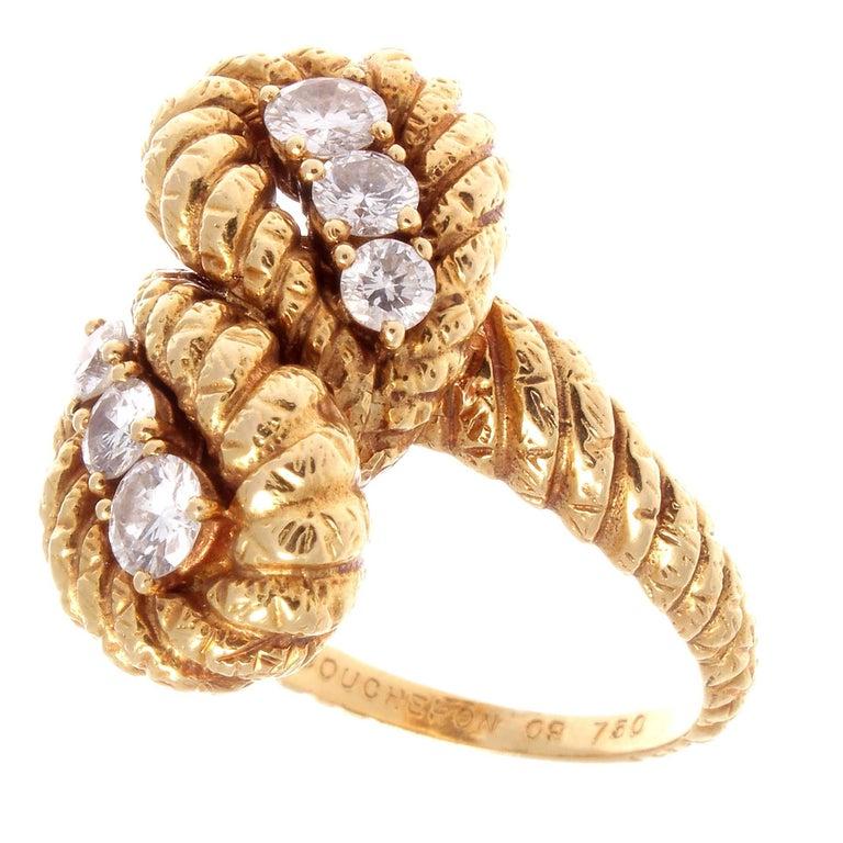 Boucheron Diamond Gold Ring 2