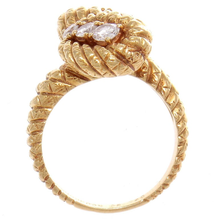 Boucheron Diamond Gold Ring 4