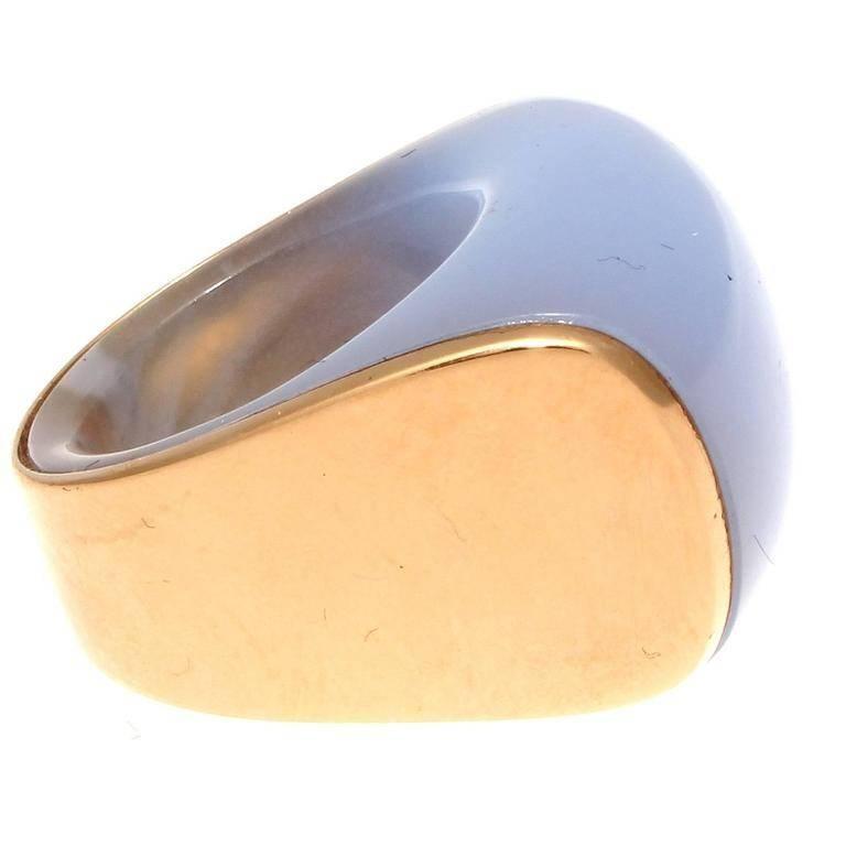 Vhernier Kogolong Pink Gold Ring
