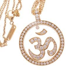 Chopard Om Diamond Gold Necklace